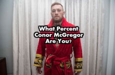 What Percent Conor McGregor Are You?