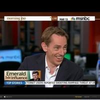 Tubs talks 'tabloid' stardom and JFK on MSNBC