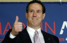 Santorum maintains Republican challenge with two more primary wins