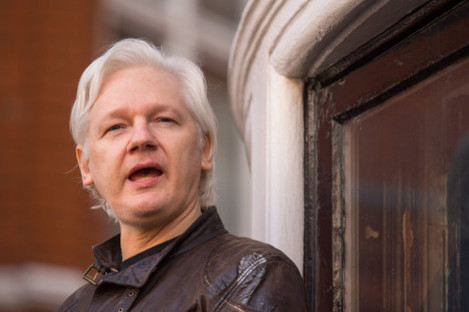 Assange has been in the Ecuadorian Embassy in London for five-and-a-half years.