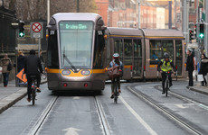 Longer Luas trams introduced this morning in bid to tackle overcrowding issues