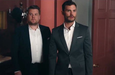 James Corden has his very own 'playroom', so he invited Jamie Dornan in for a look... It's the Dredge
