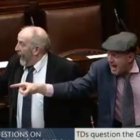 There was an almighty shouting match in the Dáil between the Healy Raes and a Fianna Fáil TD