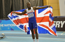 British Olympic sprinter suspended for failing drugs test on comeback from motorbike accident