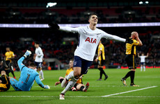 Lamela on target as Spurs end Newport's FA Cup fairytale