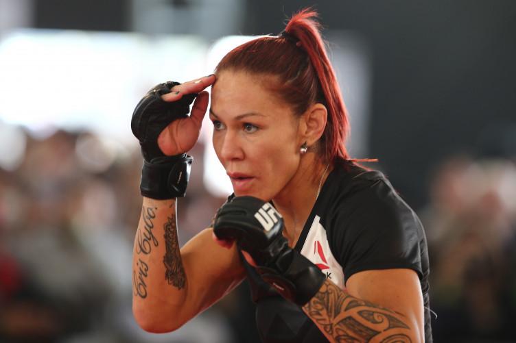 UFC women's featherweight champion Cris 'Cyborg' Justino.