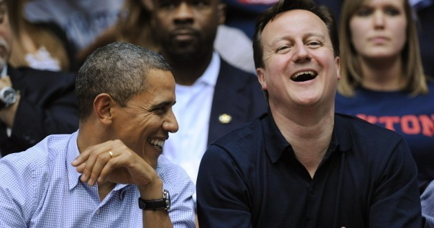 A bromance continues: David Cameron and Barack Obama