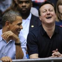 A bromance continues: David Cameron and Barack Obama