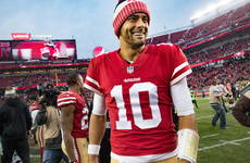 Former Patriots backup quarterback Jimmy Garoppolo signs record deal with 49ers