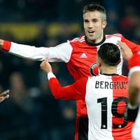 Watch: Ex-Man United striker Van Persie takes 50 seconds to score first Feyenoord goal in 14 years