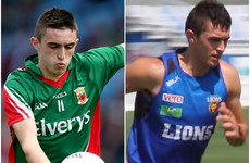 Former Mayo minor captain ends AFL dream to return to Ireland
