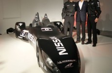 Check out the Batmobile concept car that Nissan will race at LeMans