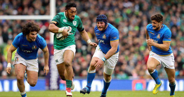 This scorching Bundee break allowed Ireland clinch a bonus point before half time