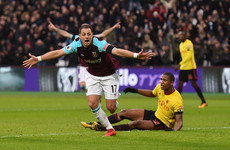 Hernandez on the mark as West Ham end winless run to ease pressure on Moyes