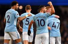 Just the four for Aguero as unstoppable Man City thump Leicester