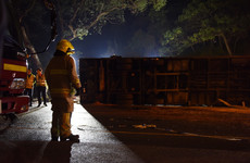 Driver arrested after 19 die in Hong Kong bus crash