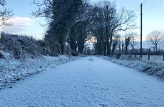 Fresh snow-ice warning issued as wintry showers move through country
