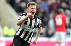 Ritchie strike hands Man United defeat as Magpies record first home win since October