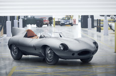 The iconic Jaguar D-Type is back in production
