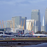All flights in and out of London City Airport cancelled after discovery of World War II bomb nearby