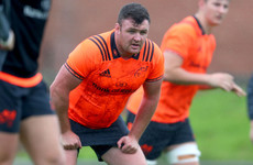 Kilcoyne set for Munster minutes in bid to break back into Schmidt's plans