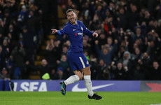 Hazard on the double as pressure on Conte eases with Chelsea back to winning ways
