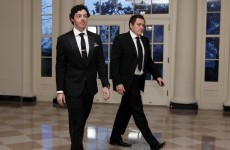 Rory McIlroy swings by White House for dinner with Obama and Cameron