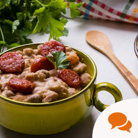 Use remaining old-season veg and store cupboard ingredients for a delicious cassoulet
