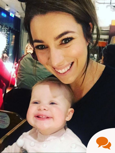 'At 32, I was told I had breast cancer just seven months after having my first baby'