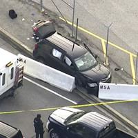 Man arrested after shooting incident outside NSA headquarters