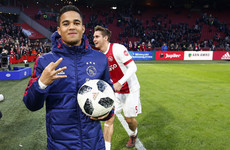 Patrick Kluivert tells son to 'follow his heart' amid Man United links
