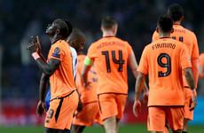 Mane hat-trick moves Liverpool towards Champions League quarters