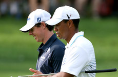 'I wouldn't have minded a quiet couple of days': McIlroy on playing with Woods