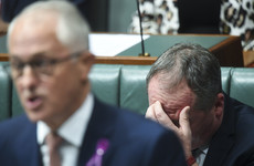 Australia bans sex between ministers and their staff after deputy PM's affair