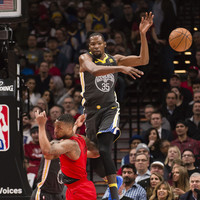 Kevin Durant scores 50 and the Warriors still lose to Trail Blazers