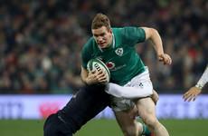 Chris Farrell has 'his nose in front' for Ireland's 13 shirt - Schmidt