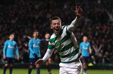 Late McGregor goal sees Celtic earn first-leg Europa League advantage