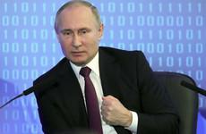 No manifesto, no programme, no debates - but Putin is cruising towards another election victory