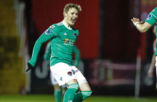 Sadlier's late goal direct from a corner gives 10-man champions a winning start