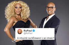 RuPaul just tweeted as Gaeilge, and people are losing their minds