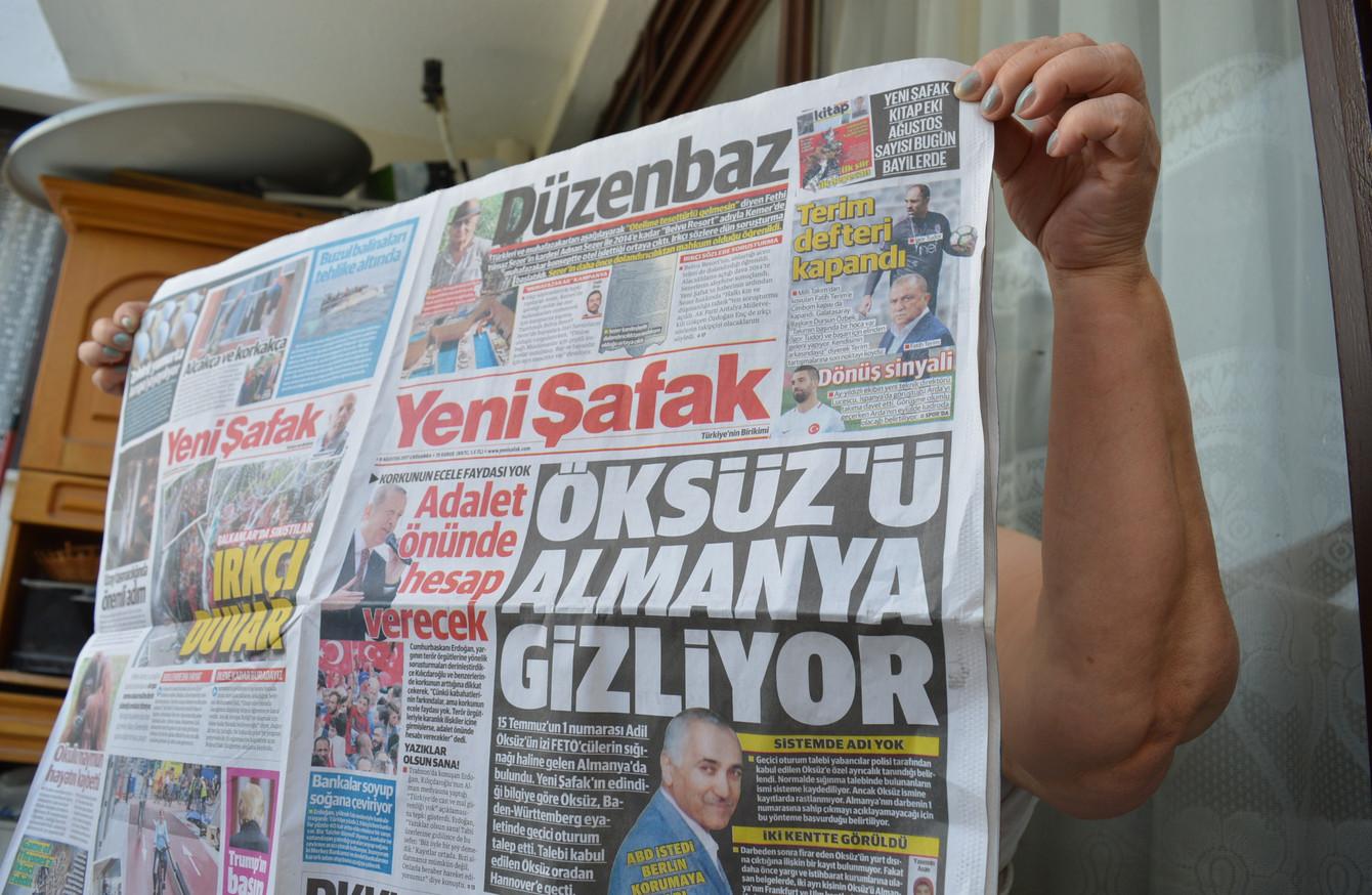 Image result for Turkey jails 6 Turkish newshounds for life