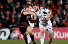 Last-gasp drop goal sees Edinburgh overcome Ulster
