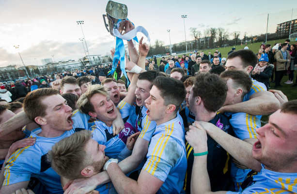 Monaghan star McCarthy hits 1-6 as UCD claim second Sigerson title