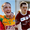 Agony and ecstasy for Kieran Molloy who played for both NUIG and Corofin today