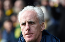 Mick McCarthy denies telling Ipswich supporters to 'f**k off' during dramatic derby
