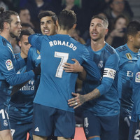 Ronaldo on target as Real Madrid win eight-goal thriller