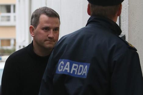 Graham Dwyer after his arrest in October 2013.