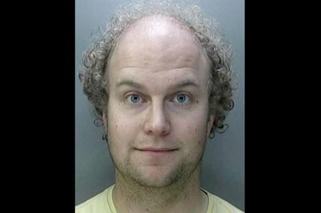 Dr Matthew Falder was sentenced in Birmingham today.