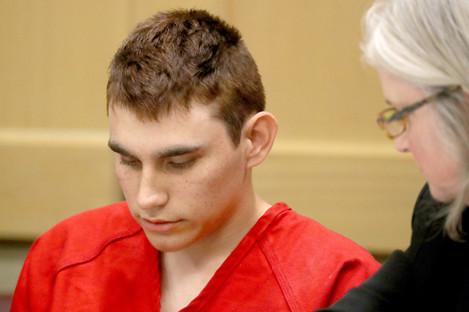 Nikolas Cruz appeared in court dressed in prison uniform.