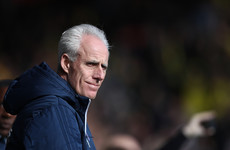 Mick McCarthy apologises for swearing during Ipswich goal celebration